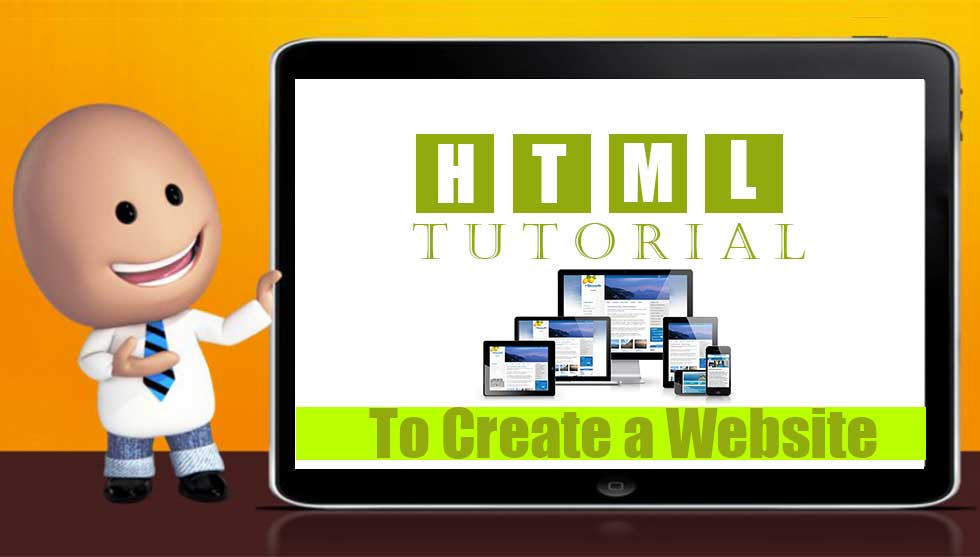 HTML Tutorial on How to create a Website